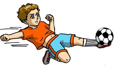 Fussball Comic Bild Cooles Bild